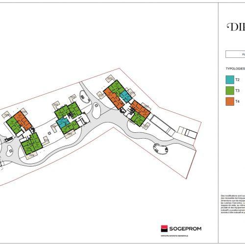 logement neuf plan 2 Diptyque - LE VESINET