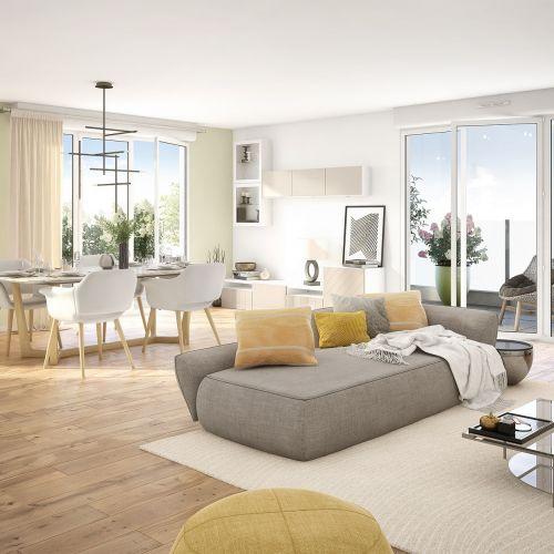 logement neuf extérieur Métropolis - REIMS