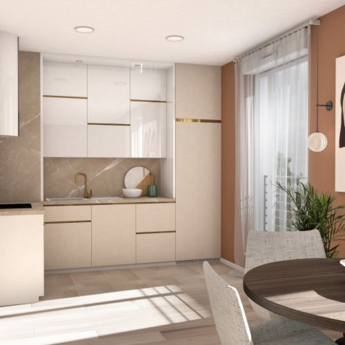 logement neuf intérieur La Cour Ferber - PARIS 20ème