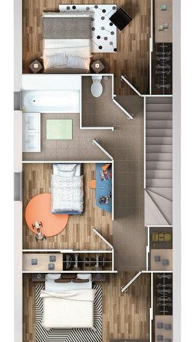 logement neuf plan 2 Les Essentielles - Colomiers