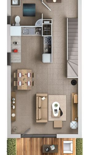 logement neuf plan 1 Les Essentielles - Colomiers