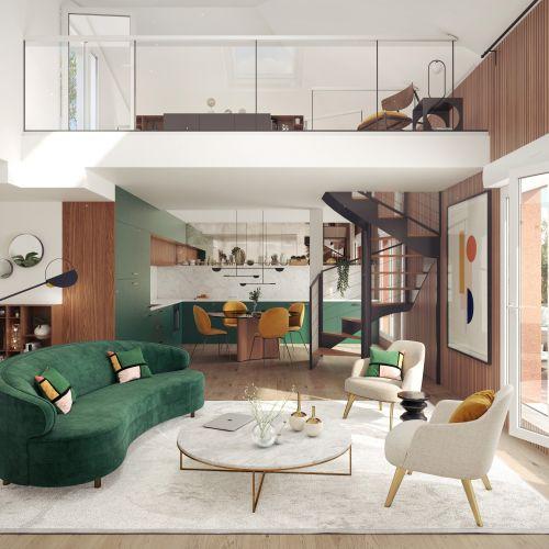 logement neuf intérieur Symbiose - Bezons