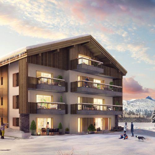 logement neuf extérieur 1 Le 7 - Samoëns - Etelley