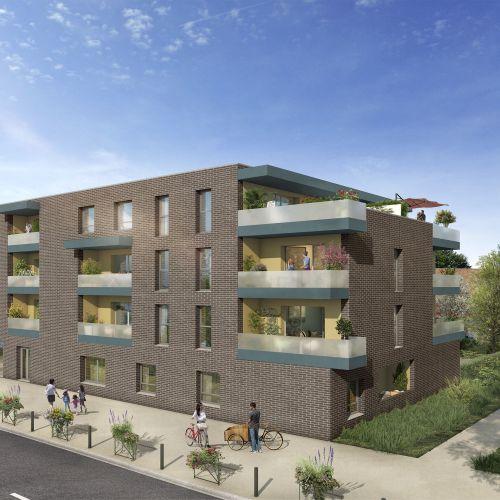 logement neuf extérieur 3 Nouvel'R - SECLIN