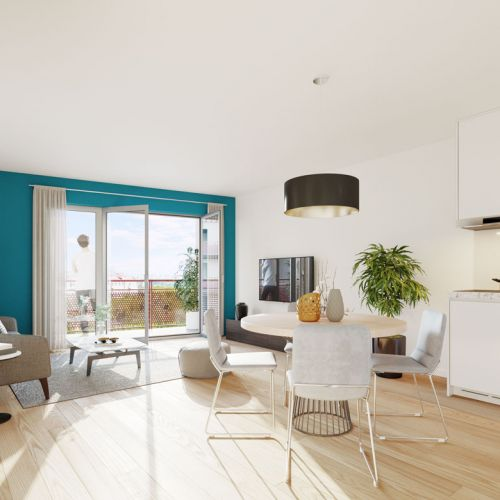 logement neuf intérieur LE 41 - DRANCY