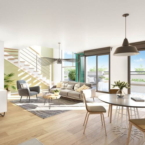 logement neuf intérieur Mozaïk - Gagny