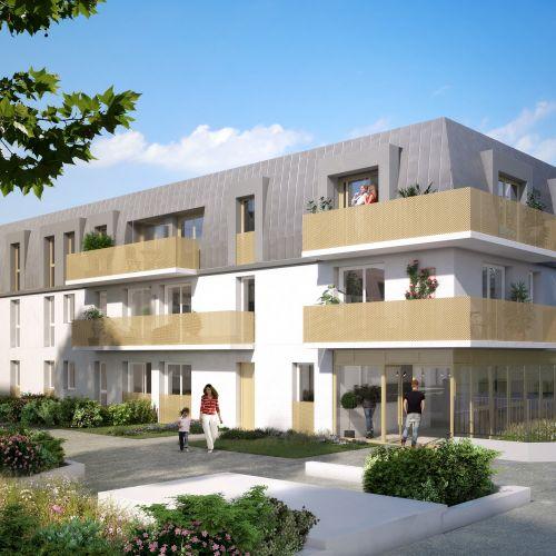 logement neuf extérieur Gardenia - Argenteuil