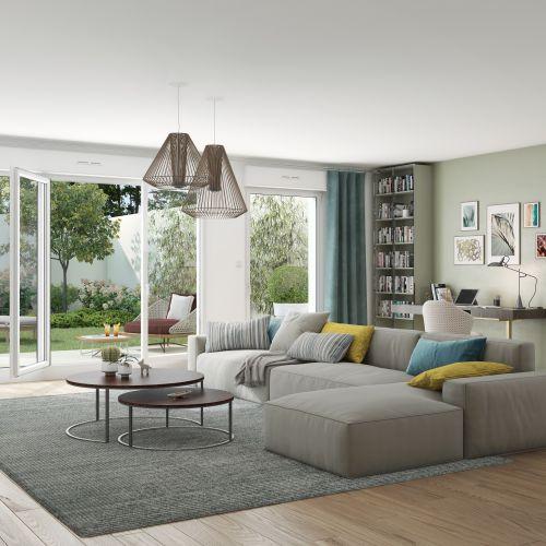 logement neuf intérieur 1 Intervalle - Drancy