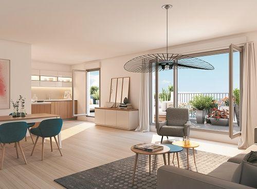 logement neuf intérieur Absolu - BAGNOLET