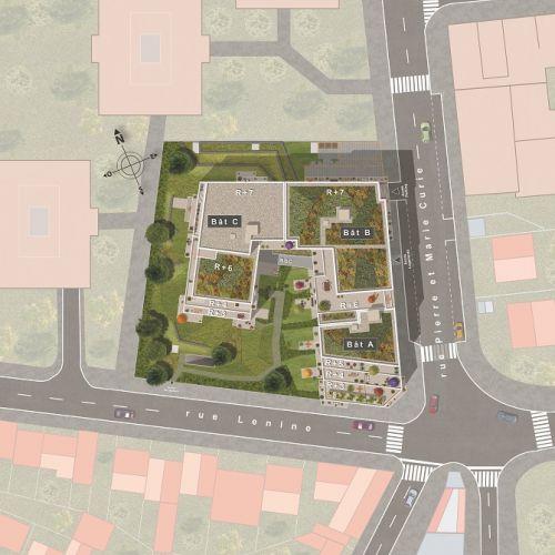 logement neuf plan 2 Absolu - BAGNOLET