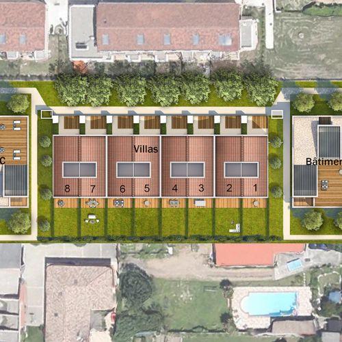 logement neuf plan 1 VIA VENETA - Toulouse