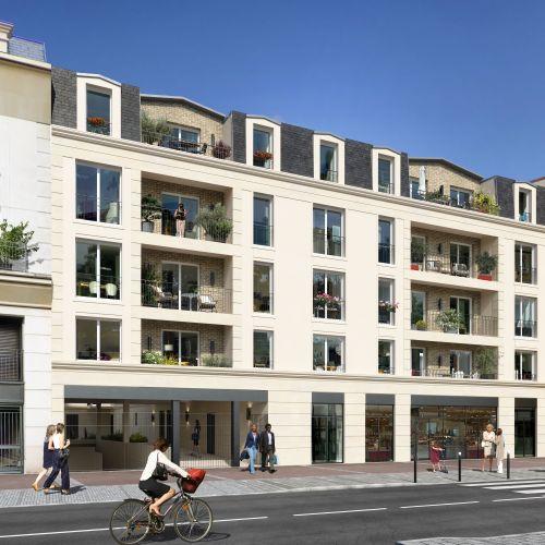 logement neuf extérieur LE 21 JAURÈS - Sartrouville