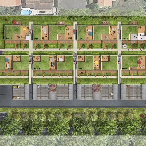 logement neuf plan ARTBOREA - Montrabé