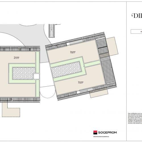 logement neuf plan 16 Diptyque - LE VESINET
