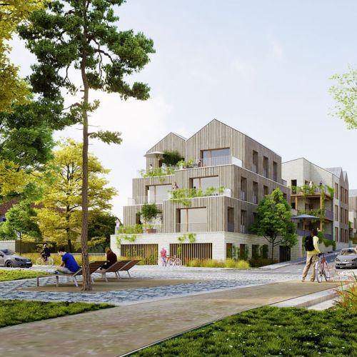 logement neuf extérieur 3 WOOD I LIKE - NOISY-LE-GRAND