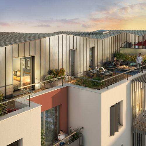 logement neuf extérieur 2 B92 - Bagneux