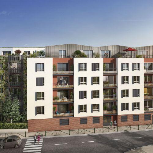 logement neuf extérieur B92 - Bagneux