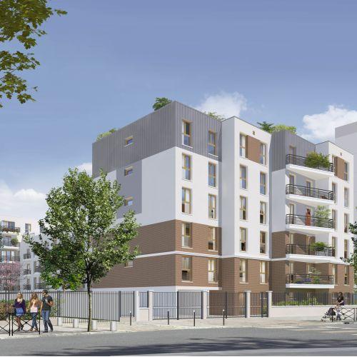 logement neuf extérieur Côté Parc - Stains