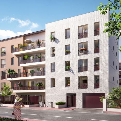 logement neuf extérieur LE 41 - DRANCY