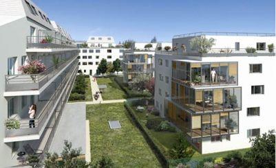 logement neuf extérieur LE NANT'AIR - NANTERRE