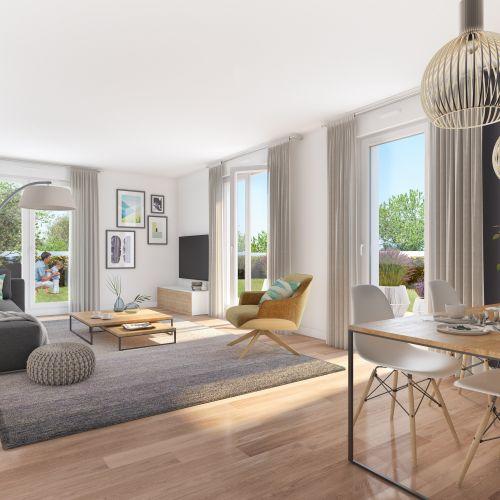 logement neuf intérieur Gardenia - Argenteuil