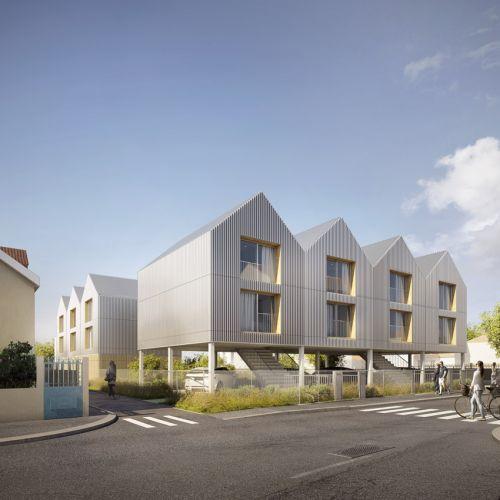 logement neuf extérieur 2 EUREKA - VITRY SUR SEINE