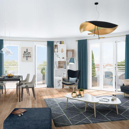 appartement neuf intérieur CLOS FLEURI  BEZONS - Bezons