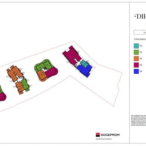 logement neuf plan 4 Diptyque - LE VESINET