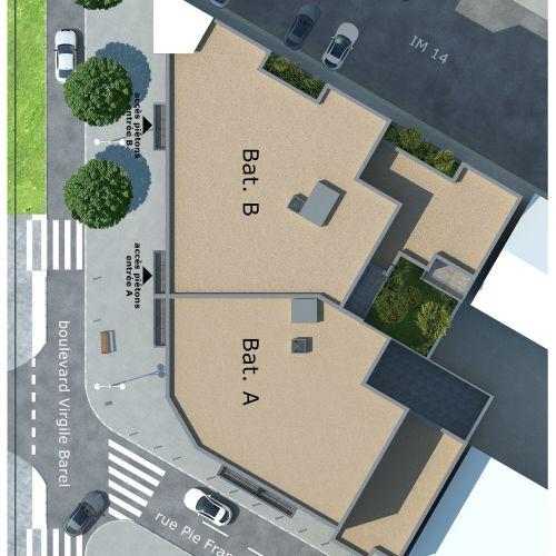 logement neuf plan Esprit Saint-Roch - Nice