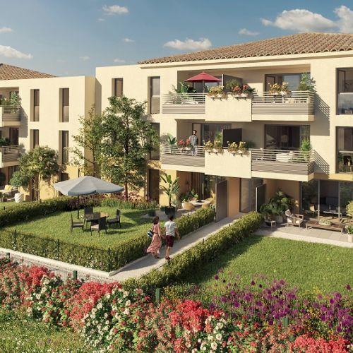 logement neuf extérieur 1 Le Domaine des Vignes - Le Luc