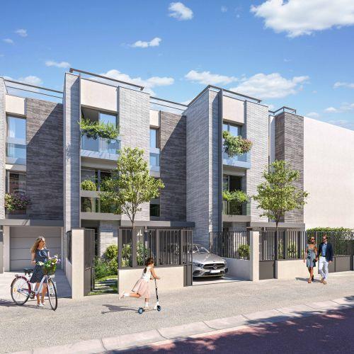logement neuf extérieur VILLA COUTURES - ISSY LES MOULINEAUX