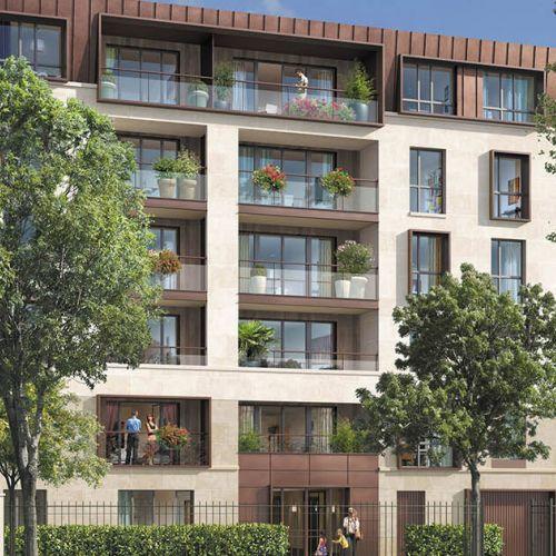 logement neuf extérieur VILLA LOUVOIS - CHAVILLE