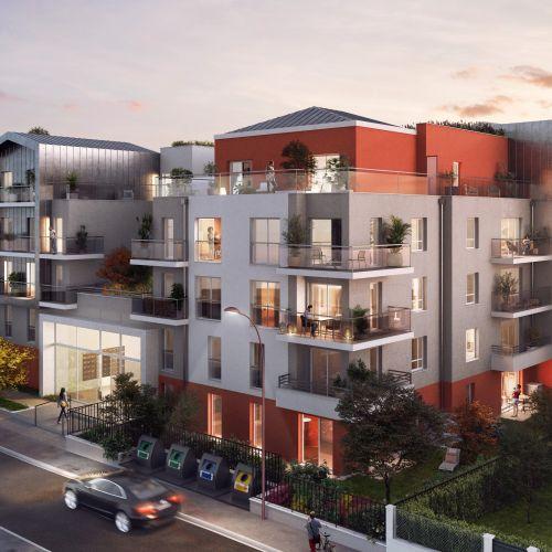 logement neuf extérieur Symbiose - Bezons