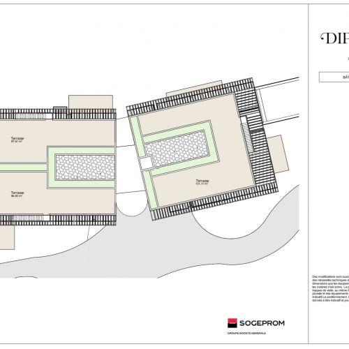 logement neuf plan 25 Diptyque - LE VESINET