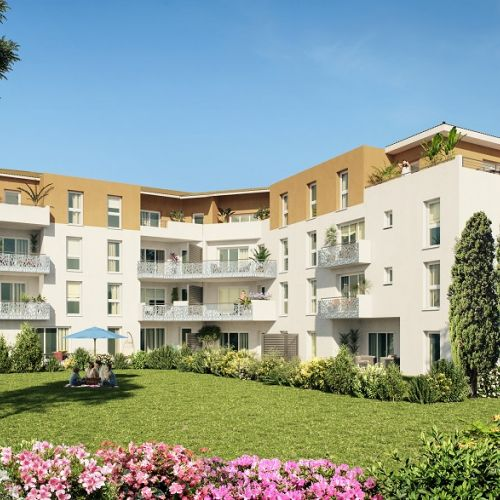logement neuf extérieur 1 Les Martelières - Hyères