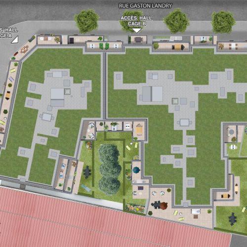 logement neuf extérieur TEMPO - Drancy