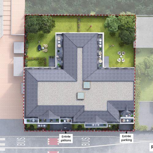 logement neuf Plan Villa du Chénay  - Gagny
