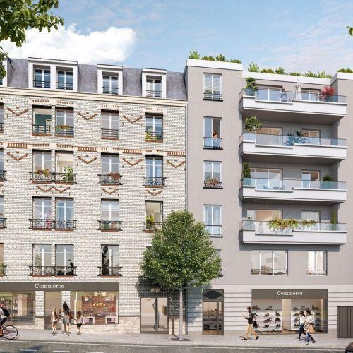 logement neuf extérieur - Arcueil