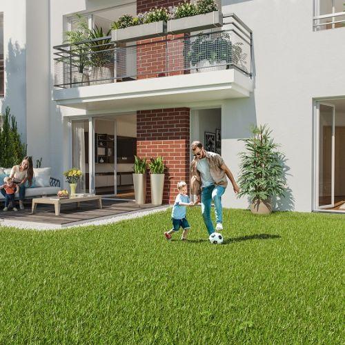logement neuf extérieur Vue Ciel - Livry-Gargan