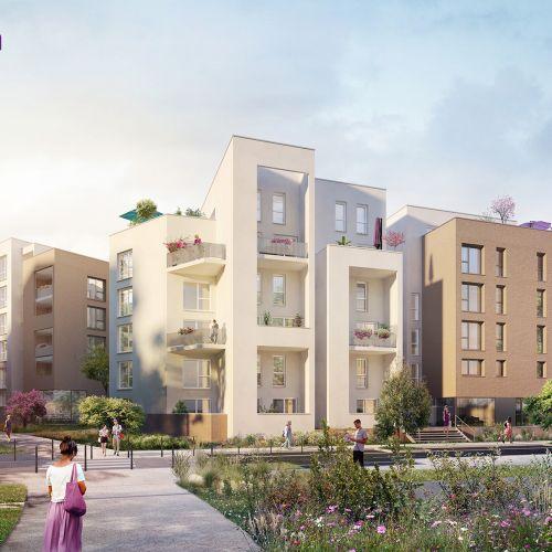 logement neuf extérieur 1 OPEN - Lyon