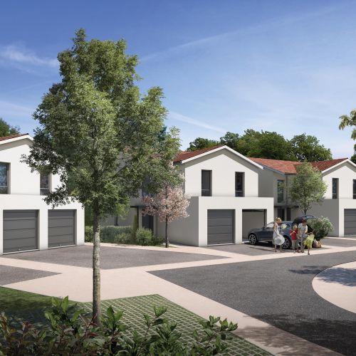 logement neuf extérieur 1 Oxalis - FROUZINS
