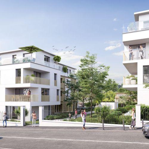 logement neuf extérieur DUO VERDE - Ormesson-sur-Marne