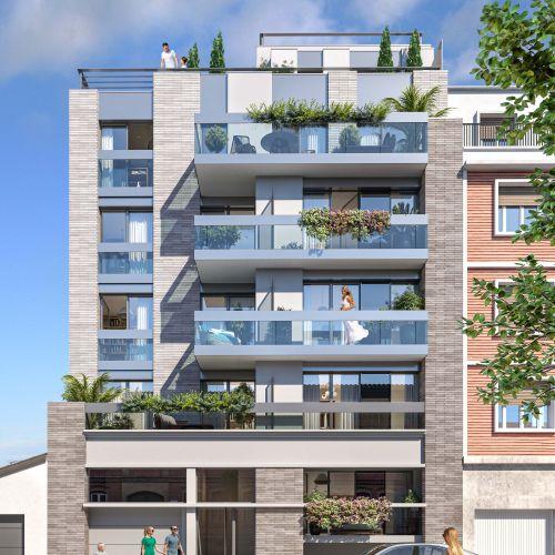 logement neuf extérieur 1 VILLA COUTURES - ISSY LES MOULINEAUX