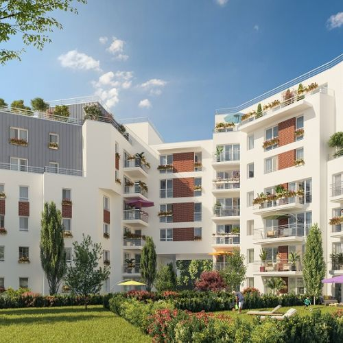 logement neuf extérieur 2 Vue Ciel - Livry-Gargan