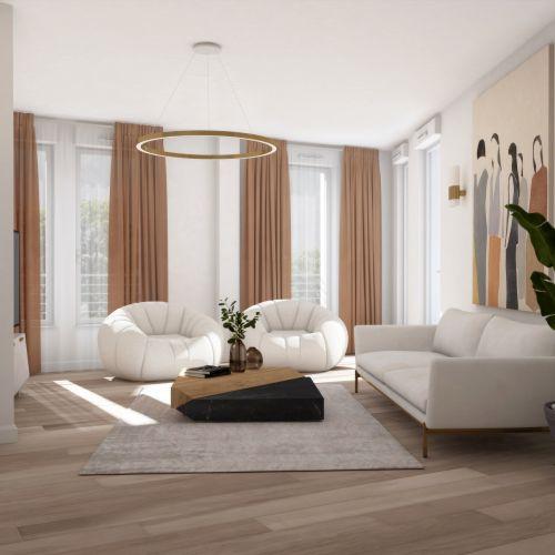 logement neuf inérieur 1 La Cour Ferber - PARIS 20ème