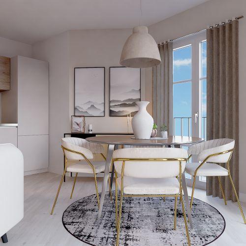 logement neuf intérieur 1 L'ENVOL - LE BLANC MESNIL