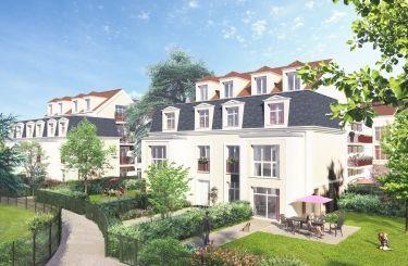 logement neuf extérieur 1 LE CÈDRE BLEU - ST LEU LA FORET