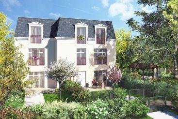 logement neuf extérieur 2 LE CÈDRE BLEU - ST LEU LA FORET