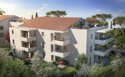logement neuf extérieur LES ROCHES BLEUES - LA CIOTAT
