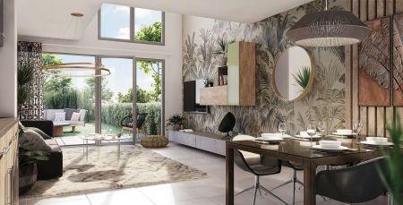 logement neuf intérieur PASSAGE DU JOUR - LYON 05